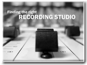 Finding the Right Recording Studio